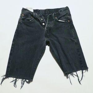 Levi Cut-off Jean shorts Black 28